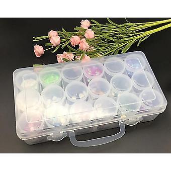 Hope chests caja organizadora de joyas estuche de artesanías de cofre de uñas