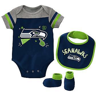 NFL Baby Bib & Bootie Set - Seattle Seahawks