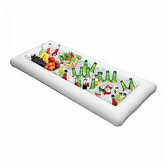 Inflatable cooler serving bar buffet ice bar tray holder food drink containers with drain plug lc149