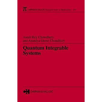 Quantum Integreerbare Systemen 435 Chapman HallCRC Onderzoeksnotities in WiskundeReeks