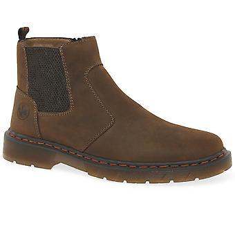 Rieker Weaver Mens Chelsea Støvler