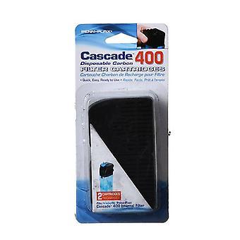 Cascade Internal Filter Disposable Carbon Filter Cartridges - Cascade 400 (2 Pack)