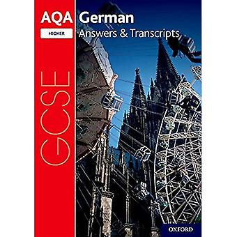 AQA GCSE German: Key Stage� Four: AQA GCSE German Higher Answers & Transcripts (AQA GCSE German)