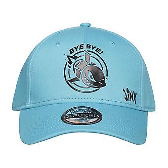 League Of Legends Baseball Cap Jinx Logo new Official Blue Strapback