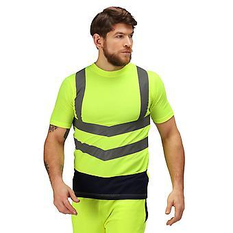Regata Professional Mens Hi Vis Short Sleeve T Shirt