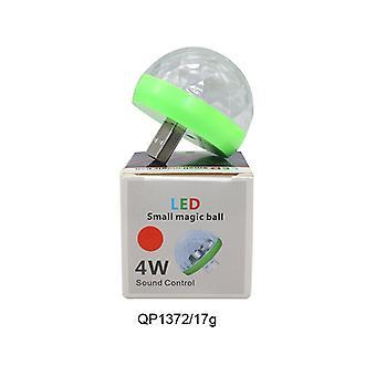 Carro USB Led Party Luzes Palco Efeito Atmosfera Karaoke Lâmpada 4w 5v Portable Disco Ball Colorful Laser Dj Disco Música Leve