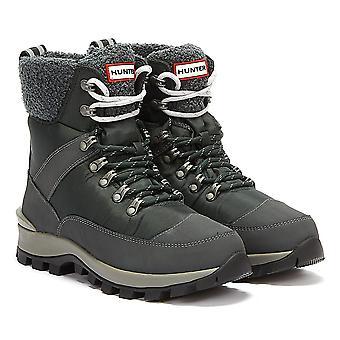 Hunter Commando Womens Moss Navy Boots