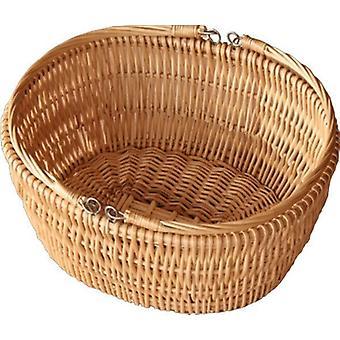 Oval markedet dyp handle Basket