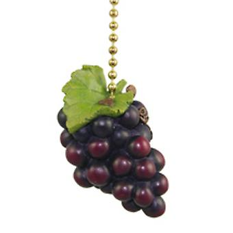 Tuscany Grapes Wine Lover Kitchen Fan Light Pull