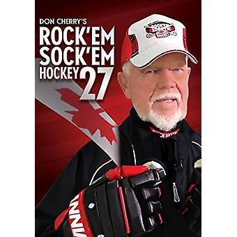 Don Cherry Rock Em Sock em importar de Estados Unidos 27 Hockey [DVD]
