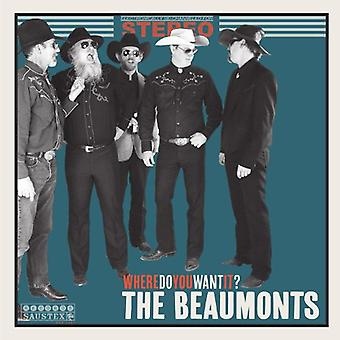 Beaumonts - Where Do You Want It? [Vinyl] USA import