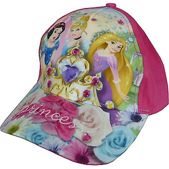 Καπέλα του μπέιζμπολ πριγκηπισσών Disney κοριτσιών με τη διευθετήσιμη πλάτη