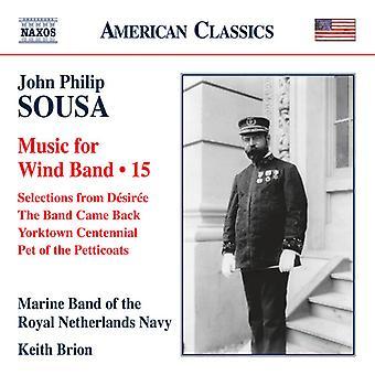 Sousa / Marine Band della Royal Navy Olanda - musica per il Wind Band 15 [CD] USA import