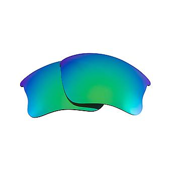 Replacement Lenses for Oakley Flak Jacket XLJ Sunglasses Green Anti-Scratch Anti-Glare UV400 by SeekOptics