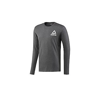 リーボック アメリカーナ LS BR5693 普遍的なすべての年の男性 t シャツ