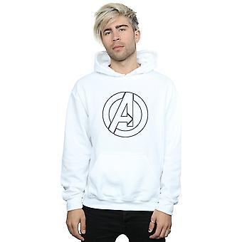 Marvel mannen Avenegers monteren een Logo overzicht Hoodie