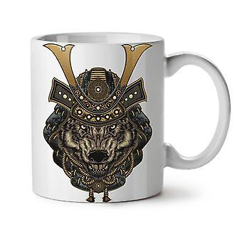 Wolf Warrior Animal NEW White Tea Coffee Ceramic Mug 11 oz | Wellcoda
