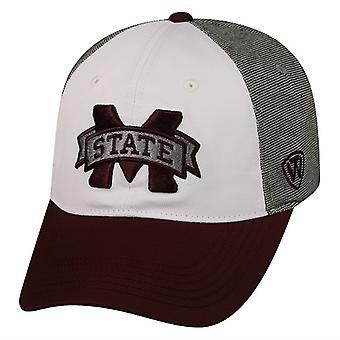 Estado de Mississippi Bulldogs NCAA TOW Hustle estiramento chapéu cabido