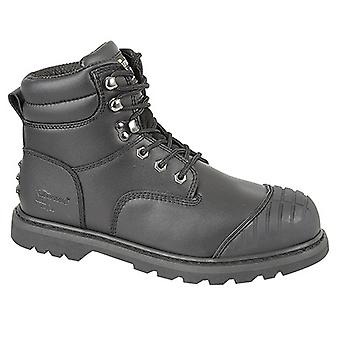 Grafters Mens Protector Padded Industrial Safety Boots