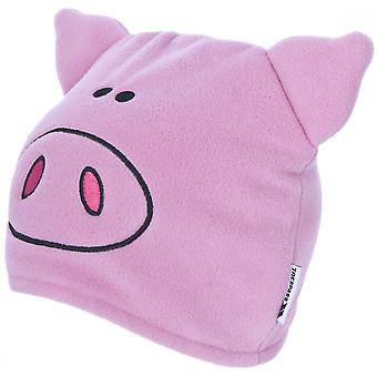 Trespass Childrens/Kids Oinky Pig Beanie Hat