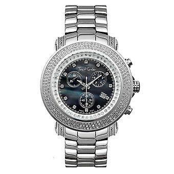 Joe Rodeo diamant mænds watch - JUNIOR sølv 2,5 ctw