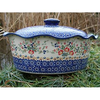 Casserole oval with cover, height 16 cm, Ø 34 x 26 cm, signature 8, BSN m-1992