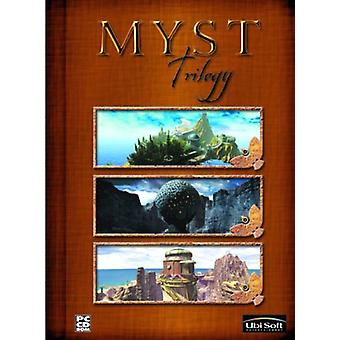 Myst Trilogy Includes Myst Riven and Myst III-Exile. - Neu