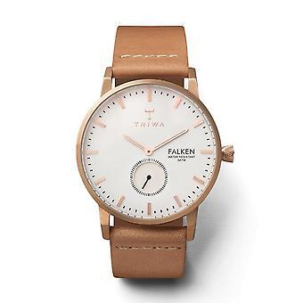 Triwa Unisex Watch wristwatch FAST101-CL010614 rose Falcon leather