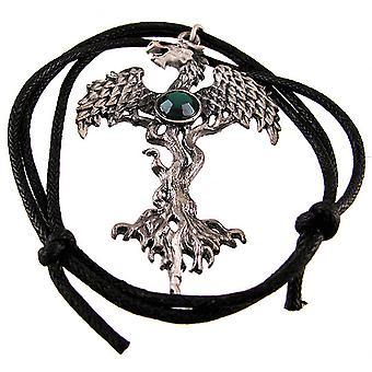 'De Dragon Tree' tinnen hanger / ketting Forest