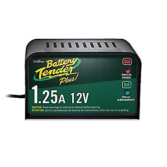 Battery Tender Plus 021-0128, 1.25 Amp Battery Charger is a Smart Charger, it will Fully Charge and Maintain a Battery a