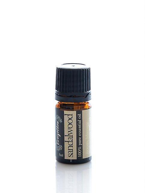 Sandalwood essential oil, 100% pure and natural, for aromatherapy 5ml.