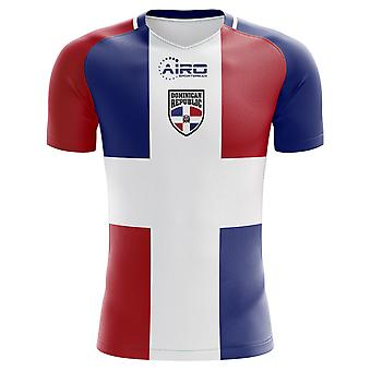 2020-2021 Dominican Republic Home Concept Football Shirt - Little Boys