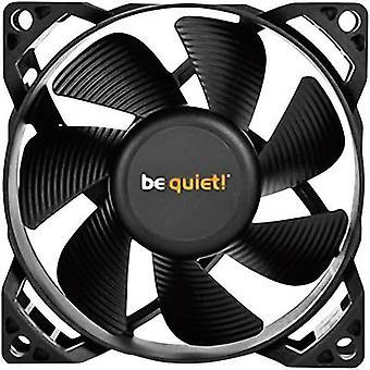 مروحة بيكيت نقية أجنحة 2 PC الأسود (ث × ح س د) 80 × 80 × 25 مم