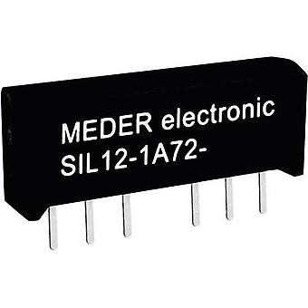 StandexMeder Electronics SIL05-1A72-71L Reed relay 1 maker 5 V DC 1 A 15 W SIL 4