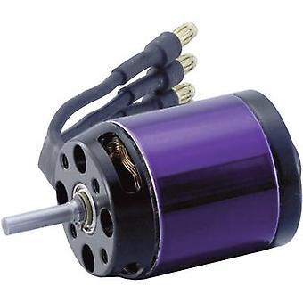 Model aircraft brushless motor A20-6 XL 10-Pole EVO Hacker kV (RPM per volt): 2500 Turns: 6