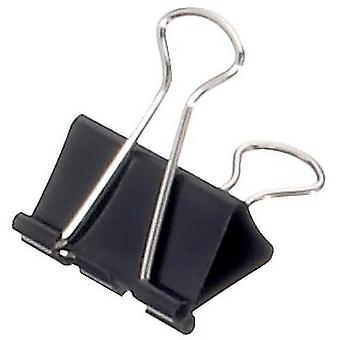 Maul Letter clip 2153290 13 mm Black 12 pc(s)