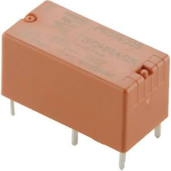 TE Connectivity PE014024 PCB relay 24 V DC 5 A 1 change-over 1 pc(s)
