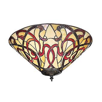 Interiors 1900 Ruban 2 Licht spülen Einbau In Art Nouvea Decke