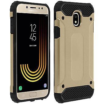 Defender II serien beskyttelse sak Samsung Galaxy J7 2017 - slipp bevis - gull