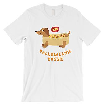 Doggie Halloweenie Mens T-Shirt blanc