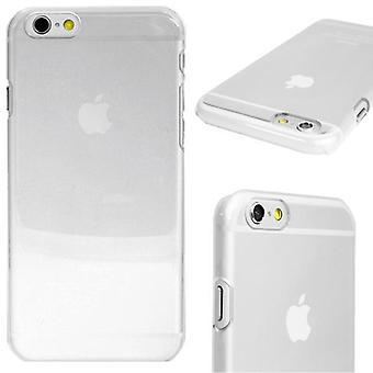 Snap-On Abdeckungen für iPhone 6/6S dünne transparente Harttasche