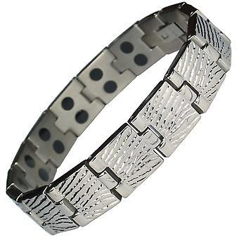 MPS® mercure GOLF Titanium Bracelet magnétique + liens FREE Removal Tool