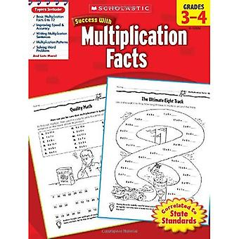 Skolastiska framgång med multiplikation fakta, årskurs 3-4