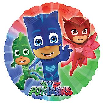 Anagram Disney Junior PJ Masks 18 Inch Circle Foil Balloon
