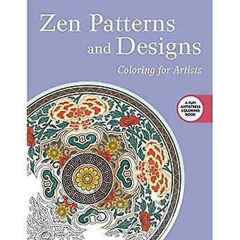 Zen mönster och design: färgläggning för konstnärer (kreativa avstressande vuxen målarbok)