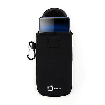 Caja protectora inventcase neopreno para Sony Xperia 10 / 10 Plus 2019 - Negro