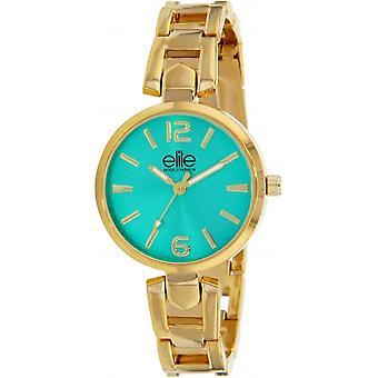 Elite E54814-107 - watch steel gold woman