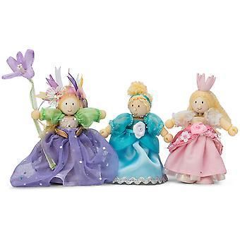 Le Toy Van Traditional Toys Princess Triple Pack