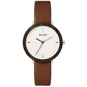MAM Ferra Watch-brun/vit