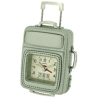 Miniature Frequent Flyer Cabin Luggage & Alarm Novelty Collectors Clock IMP608